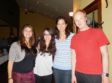 YC '09 Alum Alyssa Weinburg with the 2013 Young Composers